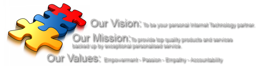 Australian Hosting vision mission values
