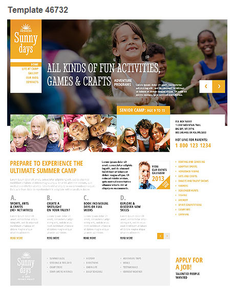 WordPress Theme 46732