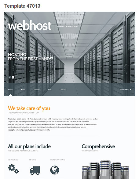 WordPress Theme 47013