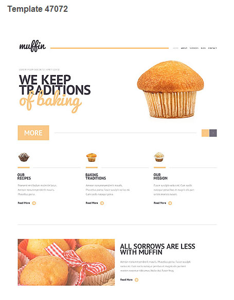 WordPress Theme 47072