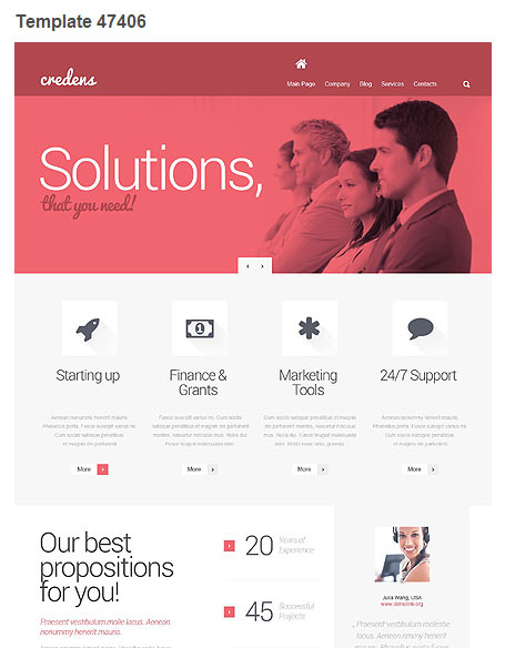WordPress Theme 47406