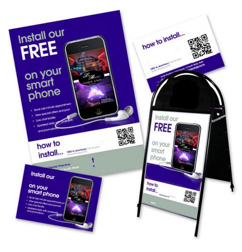 Australian App Design Promotional Material