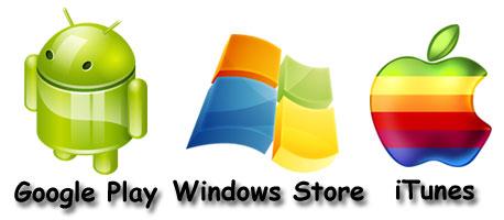 Australian App Design for Google Play, Windows Store and iTunes